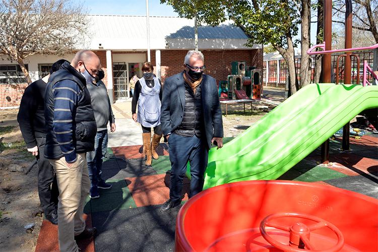 El Municipio de Tigre reacondicionó el jardín de infantes N° 926 de General Pacheco