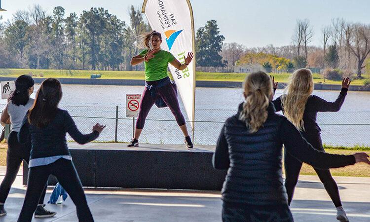 San Fernando lanzó ´Poli en tu Plaza´ con actividades recreativas y deportivas en distintos puntos del distrito