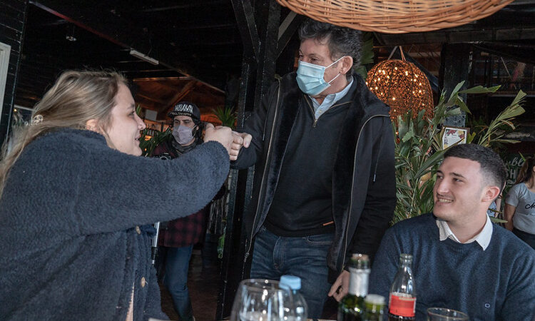 Gustavo Posse se reunió con gastronómicos de San Isidro