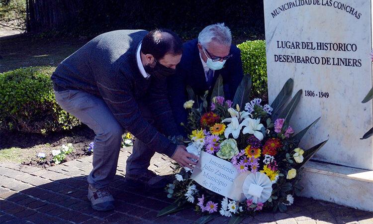 El Municipio de Tigre conmemoró su día, a 215 años del desembarco de Santiago de Liniers