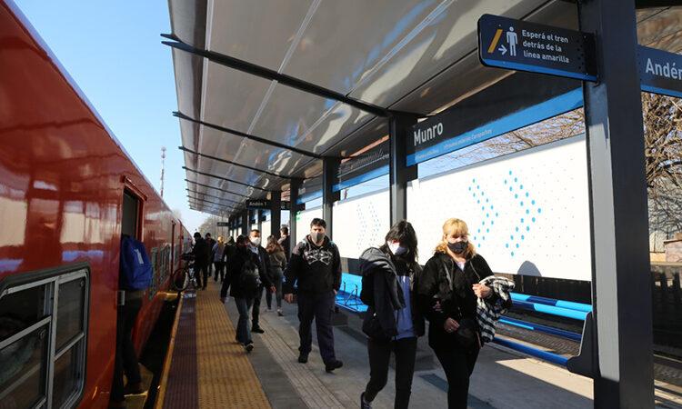 Con la habilitación de Munro, Trenes Argentinos suma otra estación modernizada en la línea Belgrano Norte