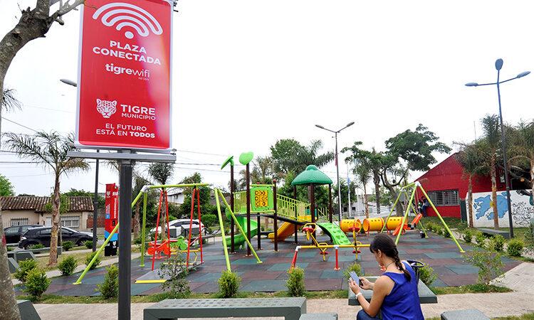 El Municipio pone a disposición puntos gratuitos de conectividad WiFi para estudiantes de Tigre
