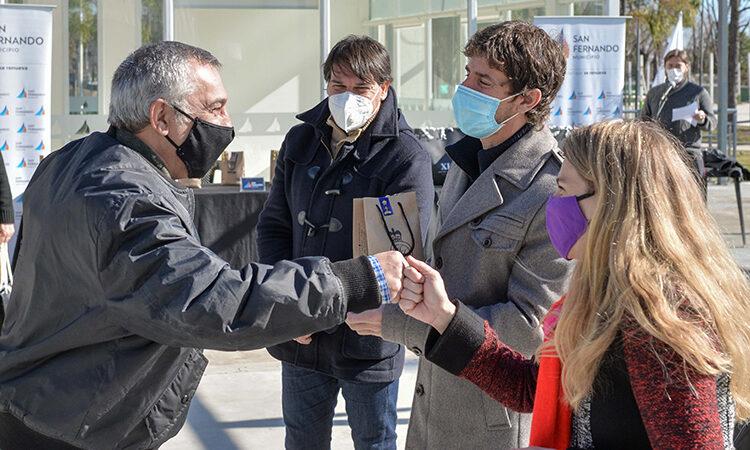 Juan Andreotti reconoció a empleados municipales que se jubilaron con un emotivo agasajo