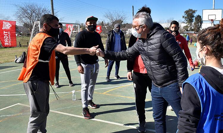 Las colonias de invierno se vivieron a pura diversión y entretenimiento en todos los polideportivos de Tigre