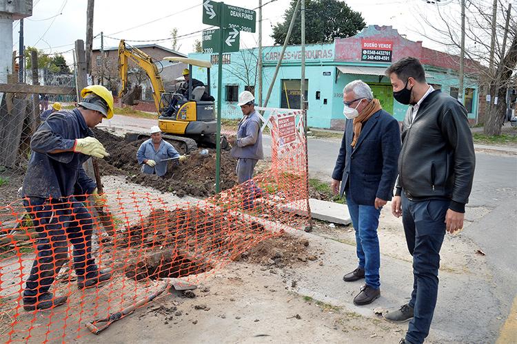El Municipio de Tigre lleva el servicio de gas a más hogares de Benavídez norte