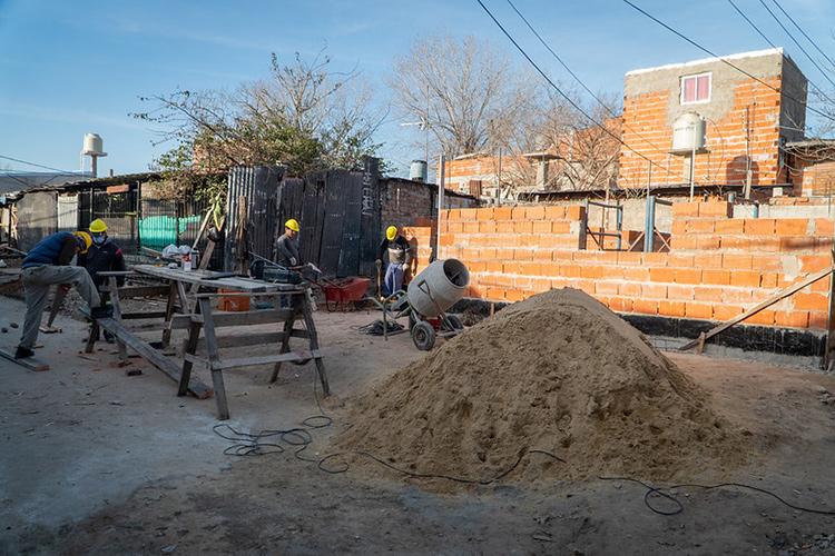 Importantes mejoras urbanísticas en el barrio Santa Ana de Boulogne