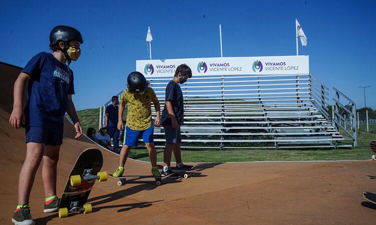 Continúan las clases de Skate y BMX Freestyle en Vicente López