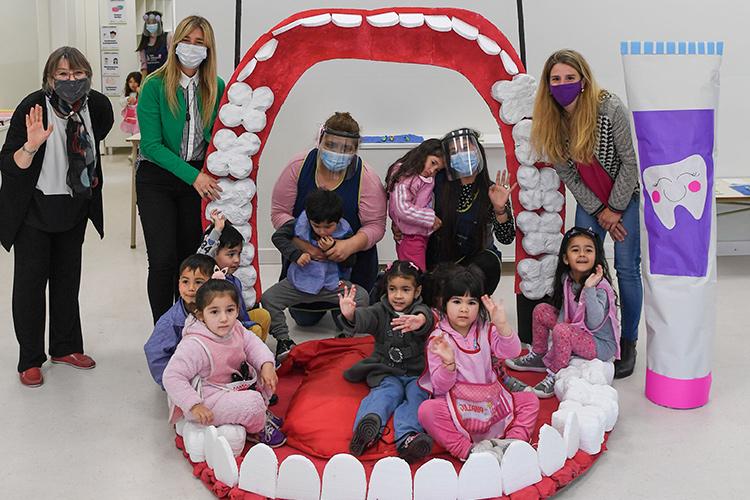 El Municipio de San Fernando relanzó su Programa de Salud Bucal con controles odontológicos para chicos