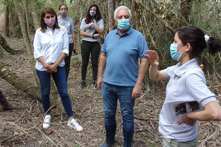 Avanza la construcción del primer Centro de Interpretación de Humedales en el Delta de Tigre