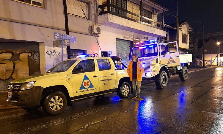 El Municipio de San Fernando brinda recomendaciones ante el alerta amarilla por fuertes vientos
