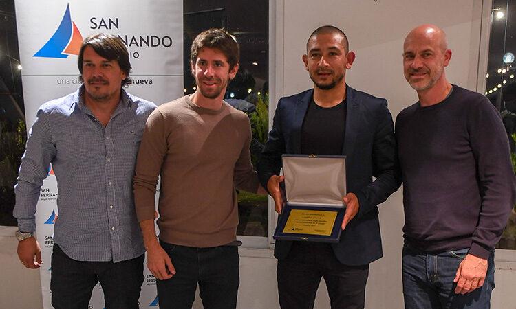 Juan Andreotti reconoció a deportistas sanfernandinos destacados en el mundo