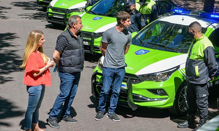 Juan Andreotti presentó 8 nuevas patrullas municipales de Protección Ciudadana