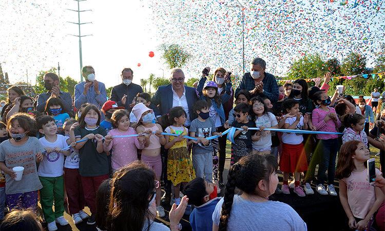 El Talar: el Municipio de Tigre inauguró los espacios públicos renovados N° 68 y 69 en la gestión del intendente Julio Zamora
